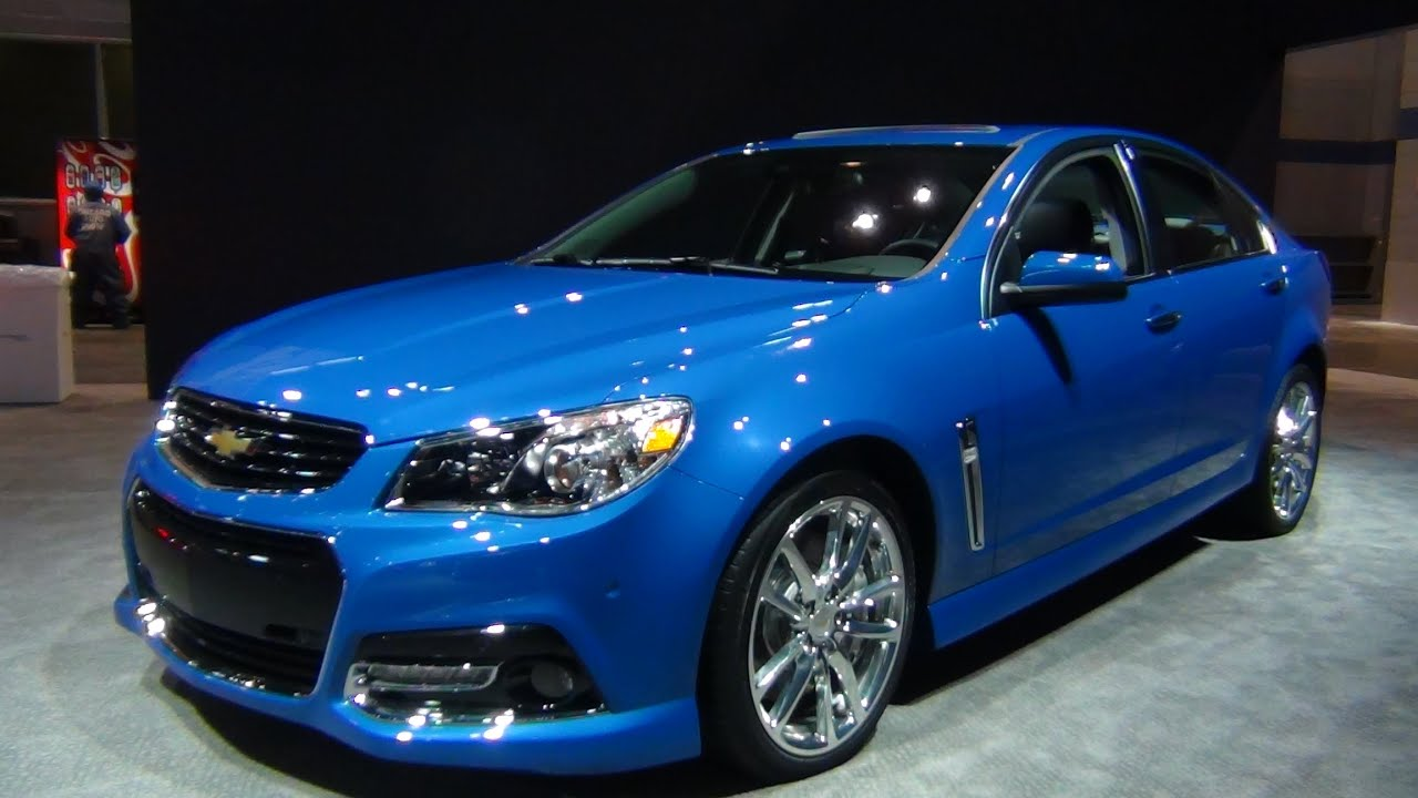 2015 chevy ss 6-speed - exterior & interior tour - youtube
