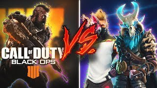 FORTNITE VS CALL OF DUTY BLACK OPS 4 -LA REALIDAD!!