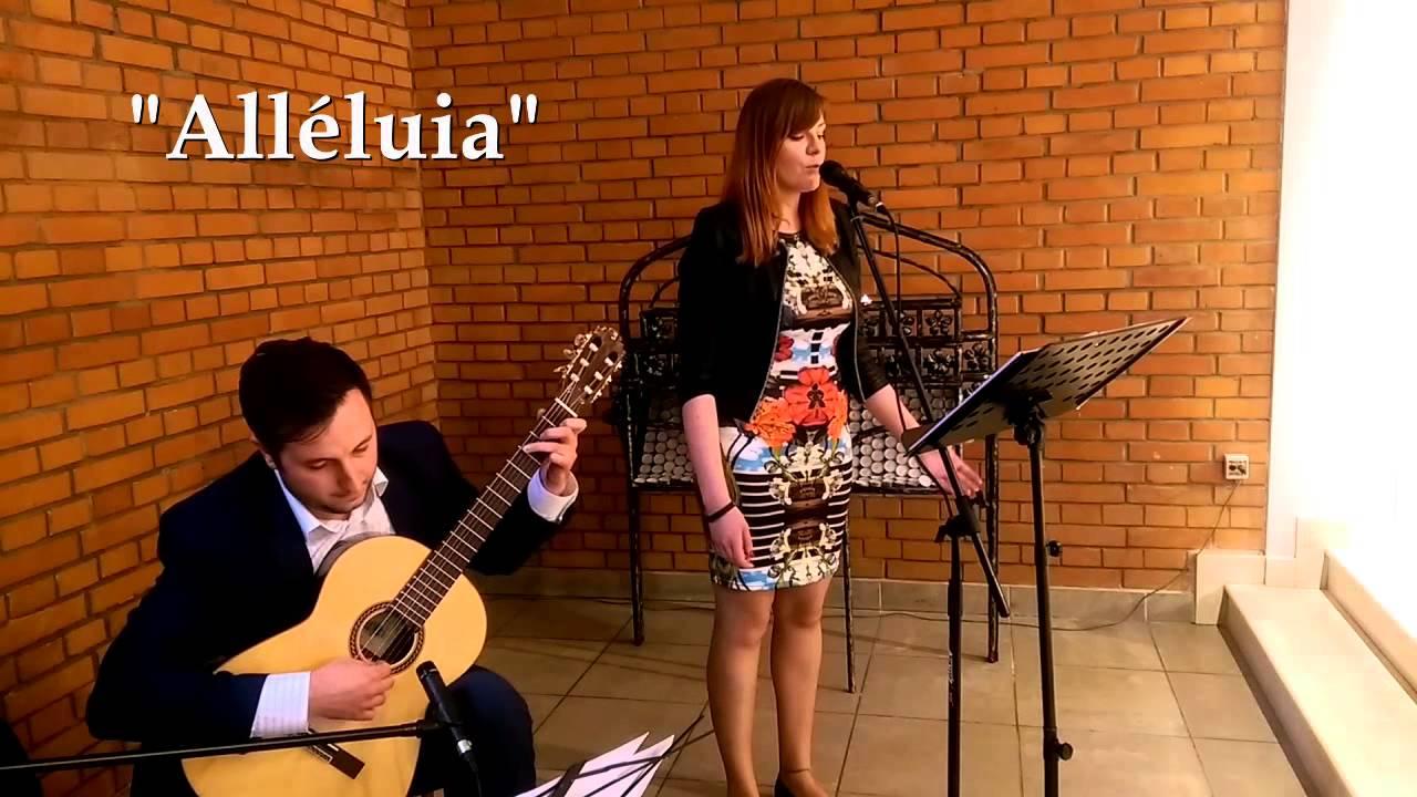 Hallelujah Po Francusku Alléluia Muzyczny ślub Oprawa Muzyczna