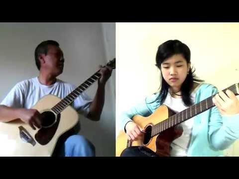 Một Thời Để Yêu - Les Amoureux Qui Passent - Christophe - Guitar Duet