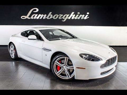 2010 Aston Martin Vantage Morning Frost White LC289 - YouTube