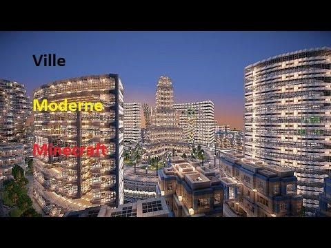 Pr sentation ville moderne minecraft ps3 youtube for Ville arredate moderne
