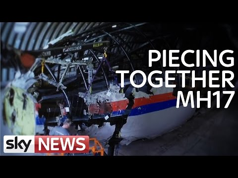 Malaysia Airlines Flight MH17: Rebuilding The Plane
