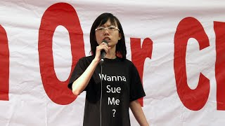 Return Our CPF - MediShield Life Protest Rally - Han Hui Hui