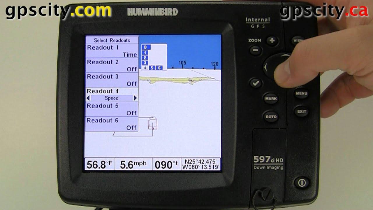 the main setup menu on the humminbird 597ci hd youtube rh youtube com  humminbird 597ci hd di user manual