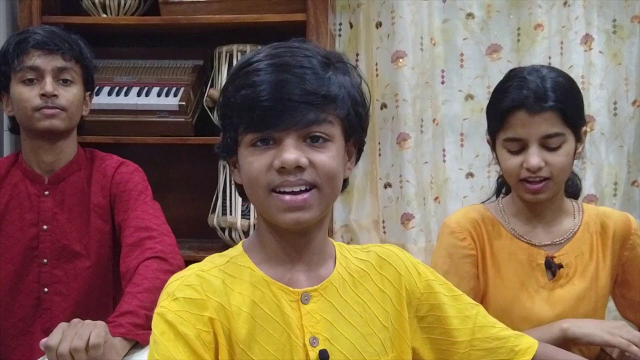 MAHAMANTRA || Hare Krishna Hare Rama || Ayachi Thakur , Maithili Thakur , Rishav Thakur