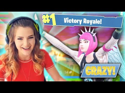 CRAZIEST BLITZ GAME EVER! (Fornite: Battle Royale) | KittyPlays