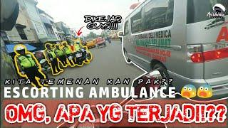 Download lagu DIKEJAR Saat Razia!?? | Escorting Ambulance #37
