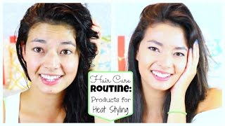Hair Care Routine: Products for Heat Styling! ♡ 50 VoSummer Thumbnail