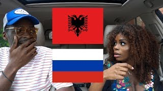 REACTION  ALBANIA vs RUSSIA RapHip HopRnB  BABATUNDE
