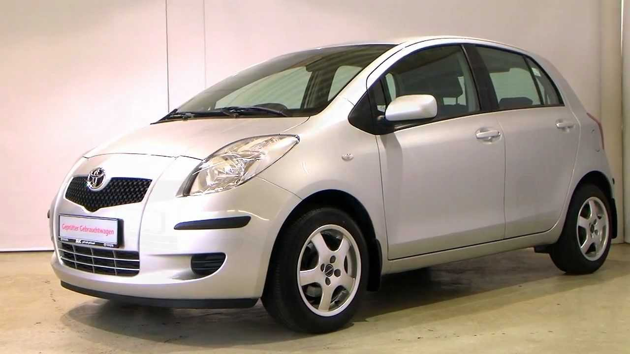 toyota yaris 1 3 vvt i sol 2006 silber metallic 015624 youtube. Black Bedroom Furniture Sets. Home Design Ideas