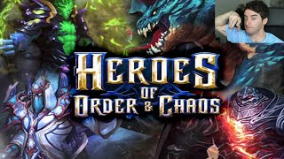 HEROES OF ORDER & CHAOS!! - [LuzuGames]