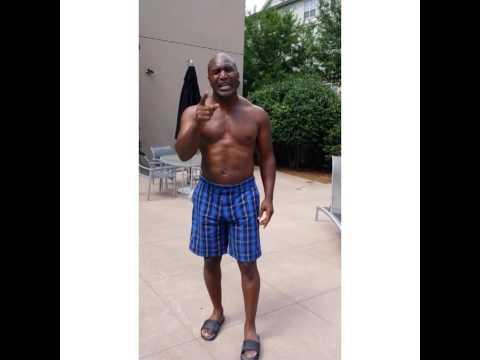 RealDeal Holyfield's ALS Ice Bucket Challenge