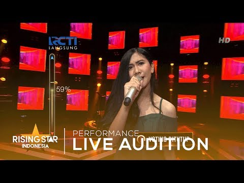 Tarishah Firdianti 'Jangan'  | Live Audition 3 | Rising Star Indonesia 2019