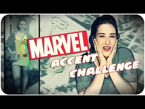 Marvel Accent Challenge  *iSneezeStars*  [08.28.2014]