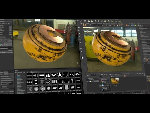 Substance Painter To Clarisse Workflow