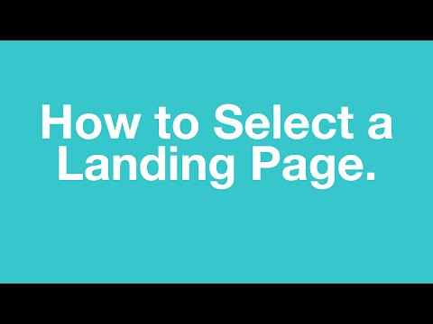 Hubpeople - How To Choose The Landing Page For Your Online Dating Site