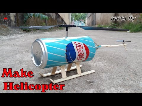 How to make toy Helicopter at home | 100% fly