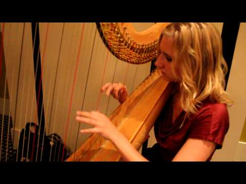 "Harp Music For Jeremy's Soul. ""Sad Marguerite At The Spinning Wheel"" By A. Zabel. October 1, 2011"