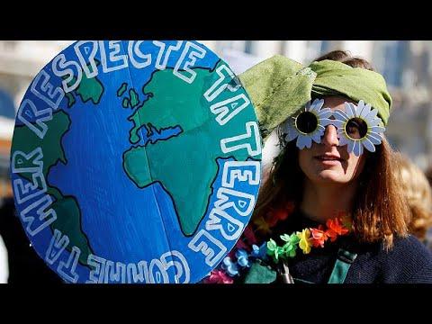 Francia protesta contra el cambio climático