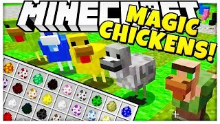 *NEW* MAGICAL CHICKENS MOD - FTB SKY ADVENTURES MOD PACK SMP (Feed The Beast) #2 thumbnail