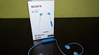 Best Budget in-Ear Bluetooth Earphones - Sony WI-C300 Unboxing and Review