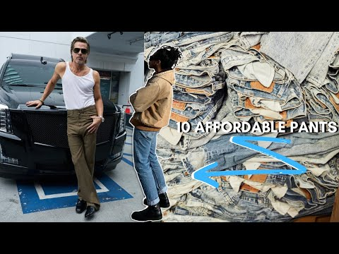 10 AFFORDABLE Pants | Vintage Levis , Carhartt + MORE