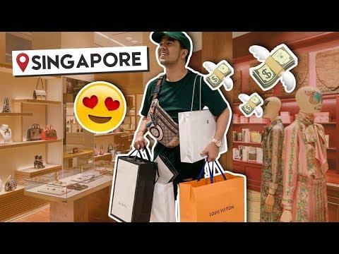 Balik Singapore + Luxury Shopping agad bes! | #RedVlogs