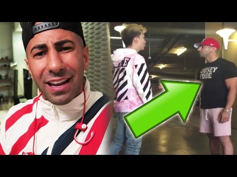 FouseyTUBE vs RiceGum FIGHT Caught on VIDEO! YouTuber