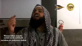 Ahmad Abul Baraa - Warum fallen manche zurück in die Jailiyah, nachdem sie praktiziert haben?