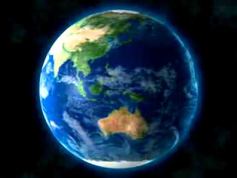 3d Earth Animated Royalty Free loop HD - YouTube