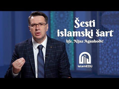 HFZ. NIJAZ AGANHODŽIĆ: ŠESTI ISLAMSKI ŠART
