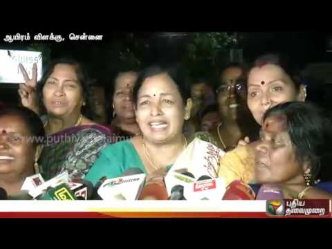 BREAKING: Jayalalithaa shifted from ICU | ADMK workers Celebrations outside Apollo Hospital