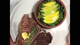 Amasya Et Ürünleri ile Evde Lezzetler 8 - Dry Aged Dana,T-Bone Steak/ Mühürleme