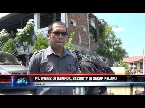 PT. WINGS DI RAMPOK, SECURITY DISEKAP PELAKU
