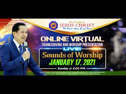 SOUNDS OF WORSHIP by Pastor Apollo C. Quiboloy • January 17, 2021