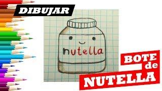 Como Dibujar Nutella Kawaii
