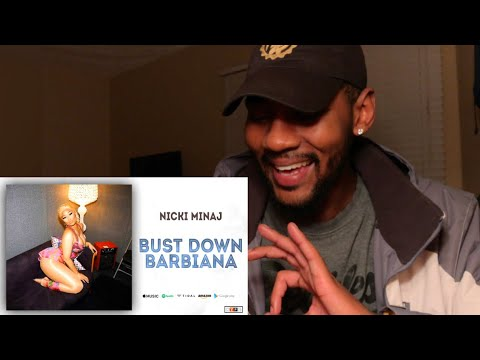 "Nicki Minaj - Bust Down Barbiana Blueface ""Thotiana"" Remix 🔥 REACTION"