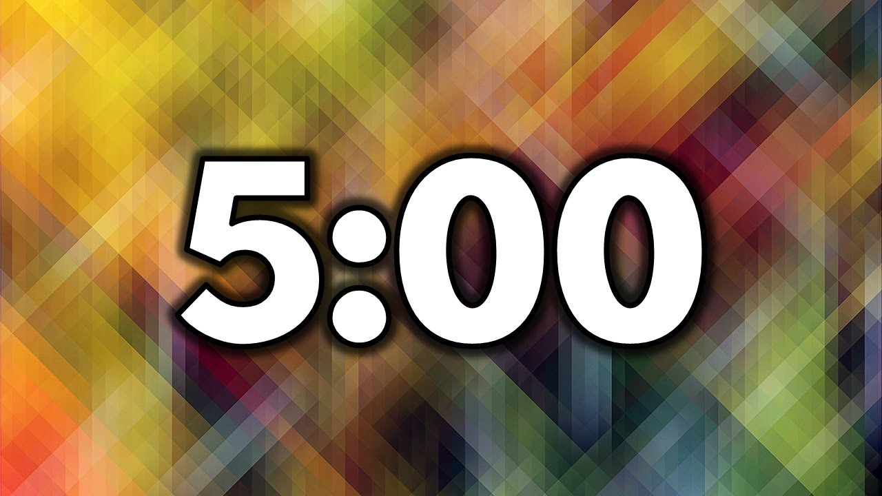 5 Minute Timer - YouTube