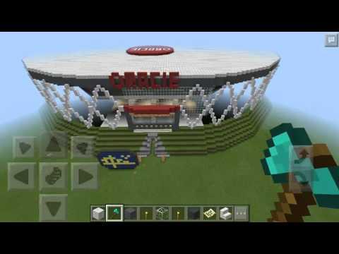 Oracle arena in minecraft PE