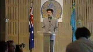 David Farrier meets Borat in Sydney