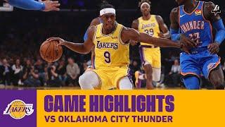 HIGHLIGHTS   Los Angeles Lakers Vs. Oklahoma City Thunder