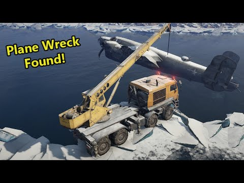 SnowRunner - Loading up Plane Wreck! (The Star in the Sky mission)