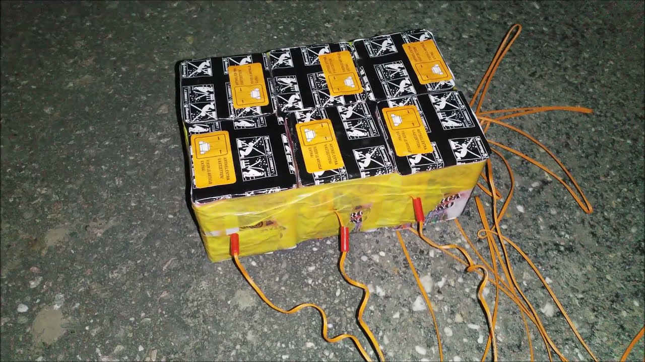 Descarga Trueno x 6 - Pyrostar BE