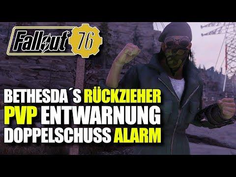 PvP Entwarnung & Doppelschuss bleibt | Bethesda macht einen Rückzieher | Fallout 76 thumbnail