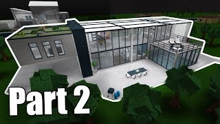 Modern Family House + Home Cinema! Roblox - BloxBurg (227K) #2