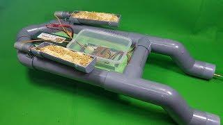 Chế Thuyền Thả Thính Từ Ống Nhựa PVC