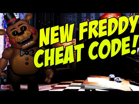 Five nights at freddys 2 new toy freddy cheat code found