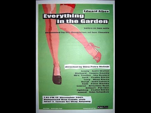 Edward Albee: Mindent a kertbe....Everything in the garden
