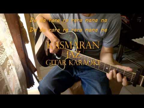 Jaz - Kasmaran | Akustik Gitar Karaoke + Lirik